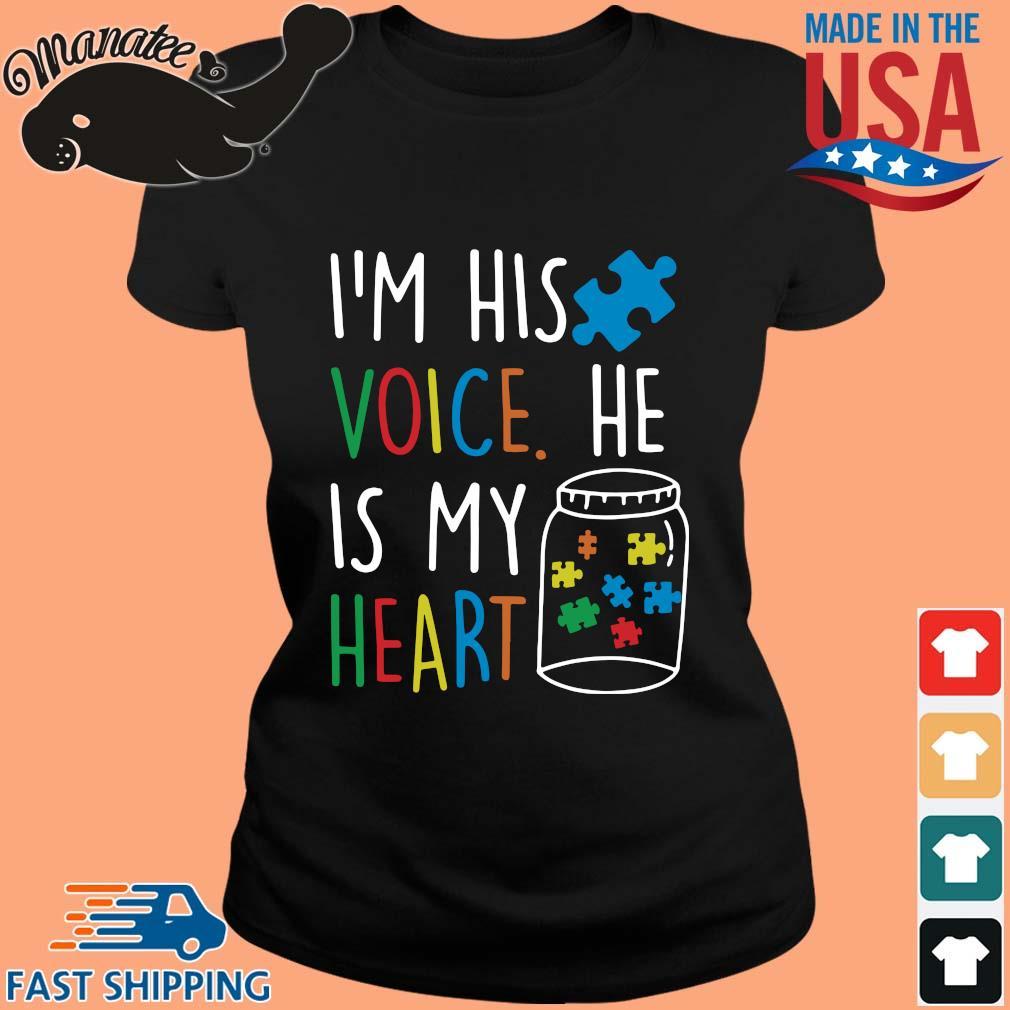 Autism I'm his voice he is my heart s ladies den
