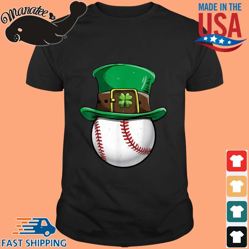 Baseball Irish St Patrick's Day shirt