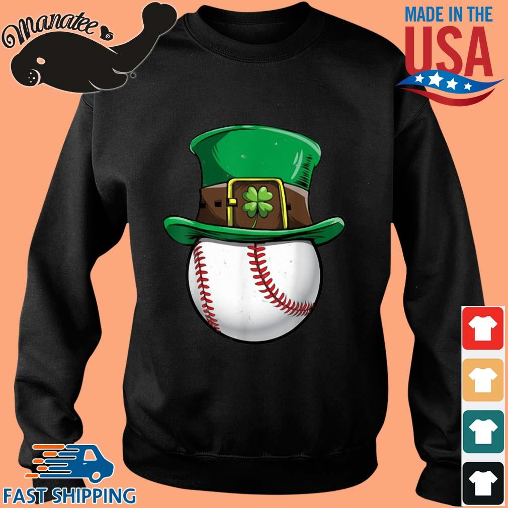 Baseball Irish St Patrick's Day s Sweater den