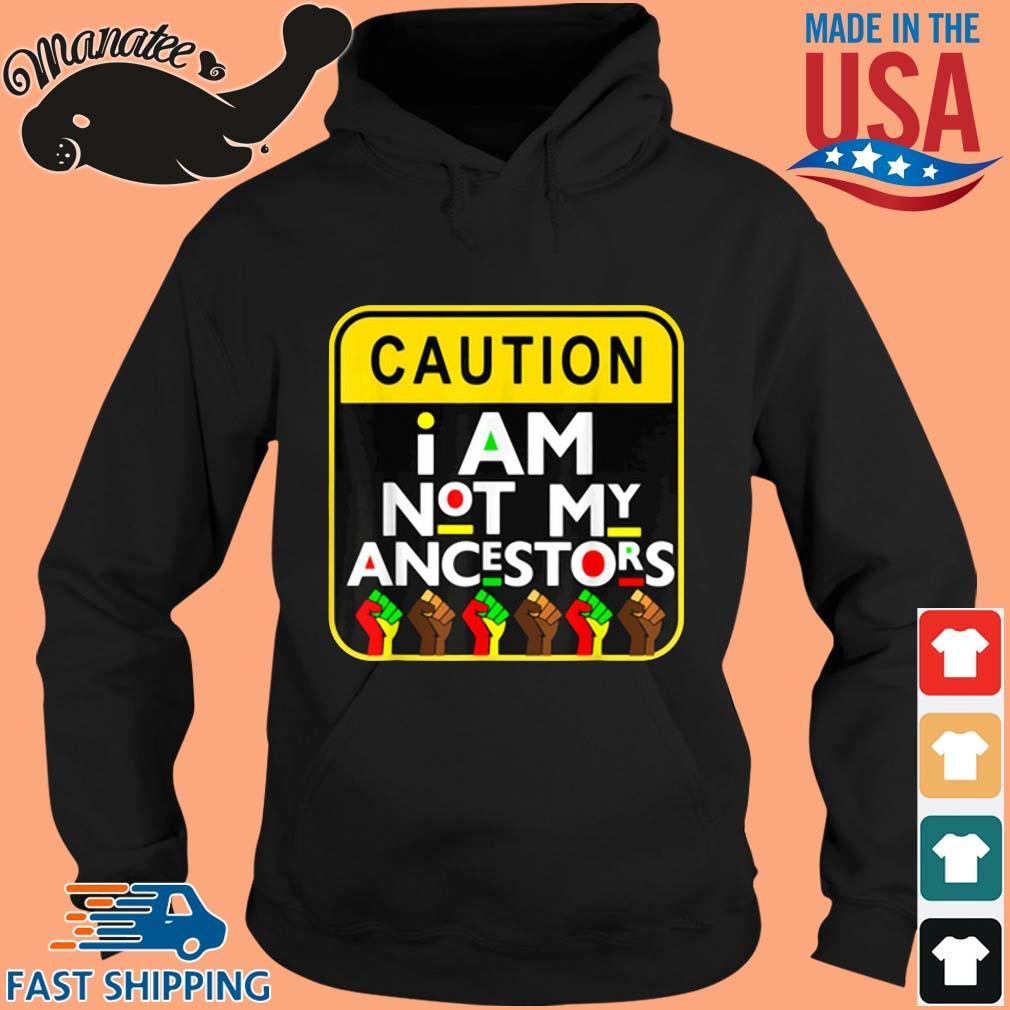 Caution I am not my ancestors s hoodie den