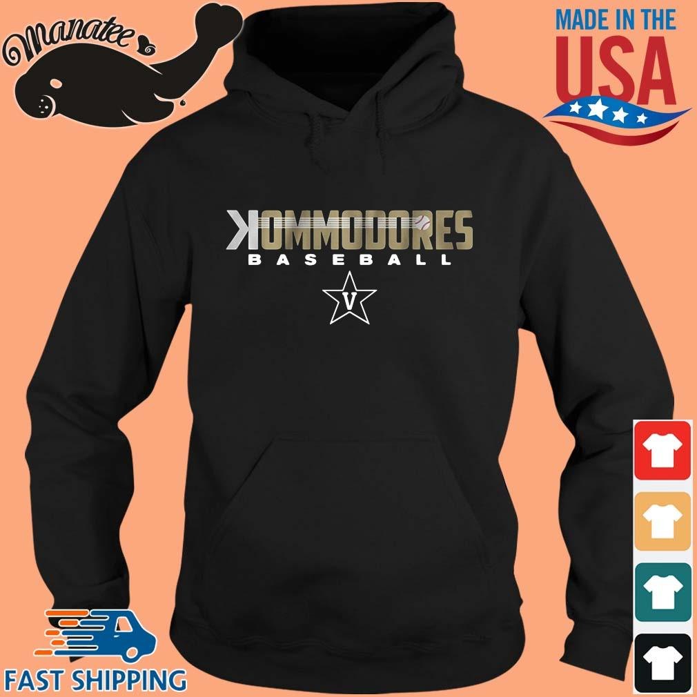 Commodores baseball s hoodie den