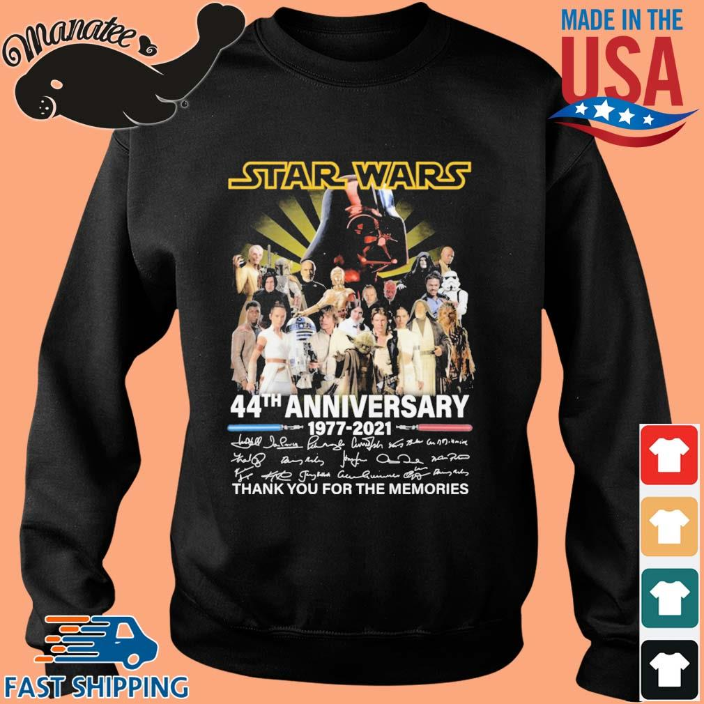 Star Wars 44th anniversary 1977-2021 thank you for the memories signatures s Sweater den