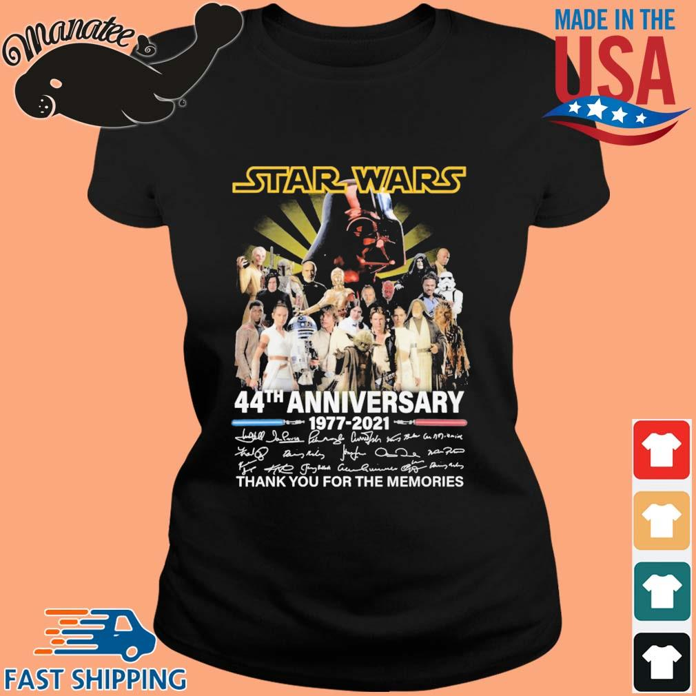 Star Wars 44th anniversary 1977-2021 thank you for the memories signatures s ladies den