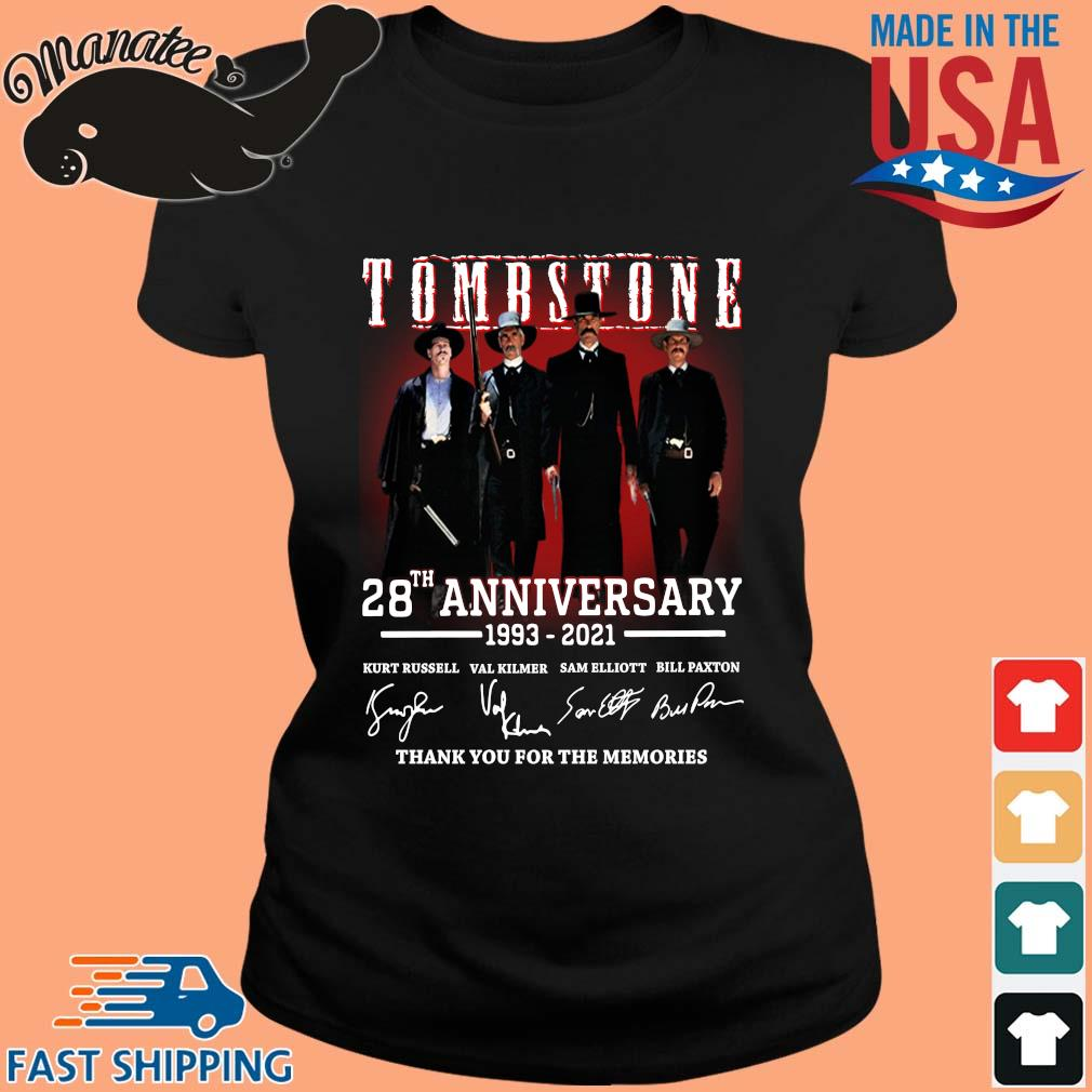 Tomb Stone 28th anniversary 1993-2021 thank you for the memories signatures s ladies den
