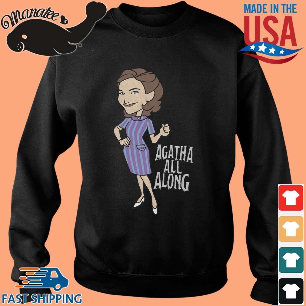 Wandavision Agatha All Along Portrait Shirt Sweater den
