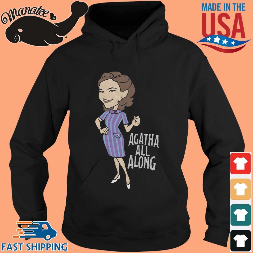 Wandavision Agatha All Along Portrait Shirt hoodie den