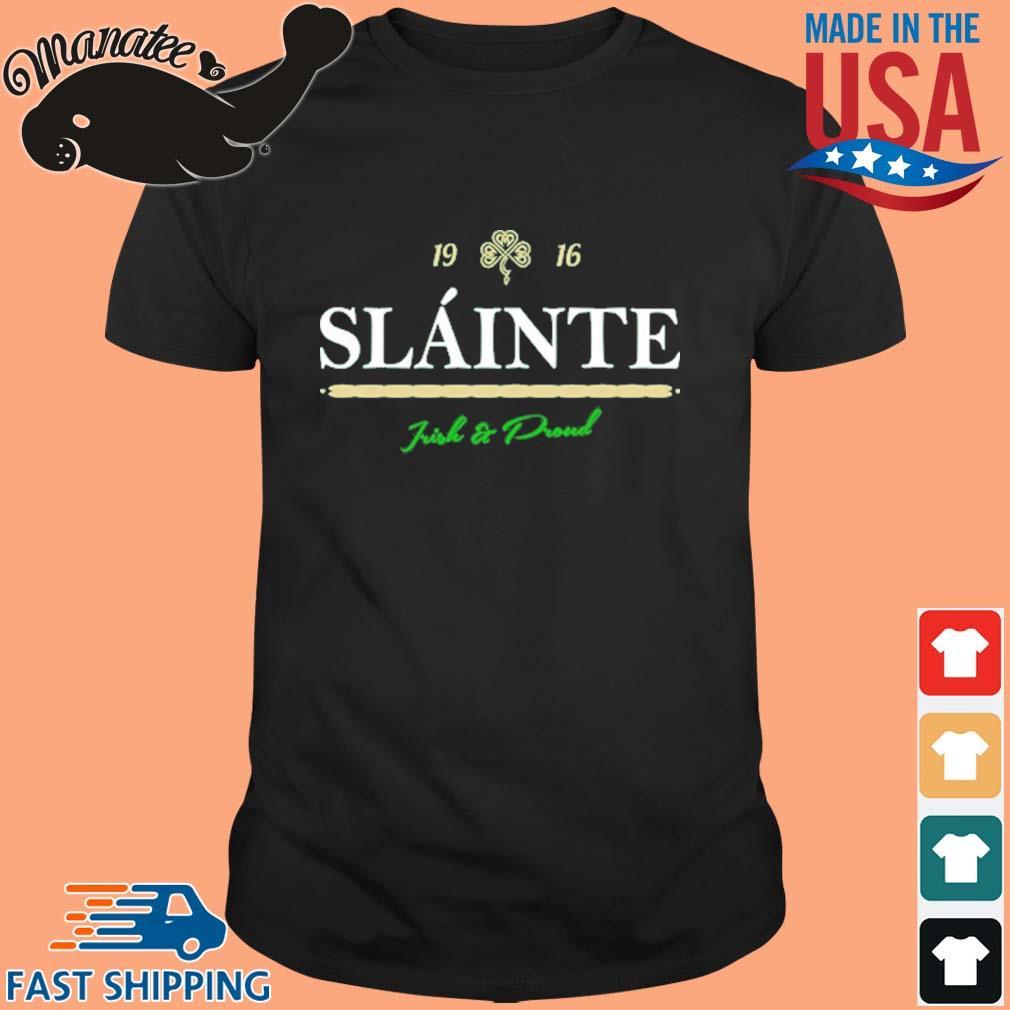 New Orleans Saints 19 16 slainte irish and proud shirt