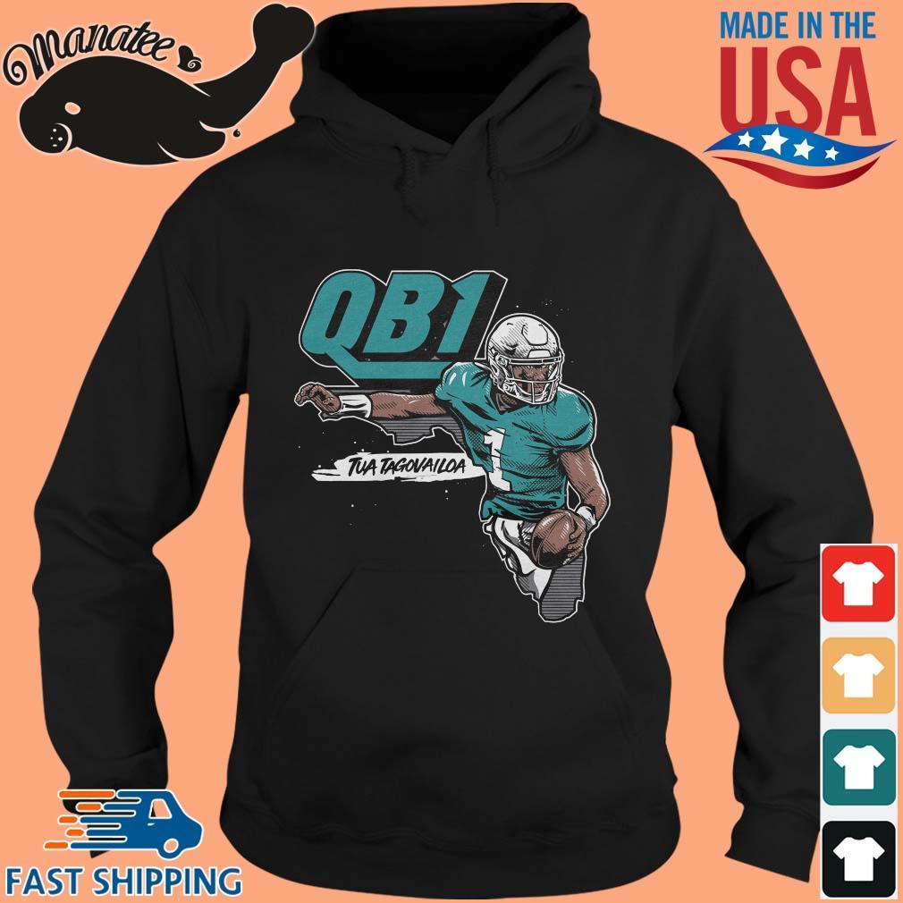 QB1 Tua Tagovailoa Miami Dolphins Shirt hoodie den