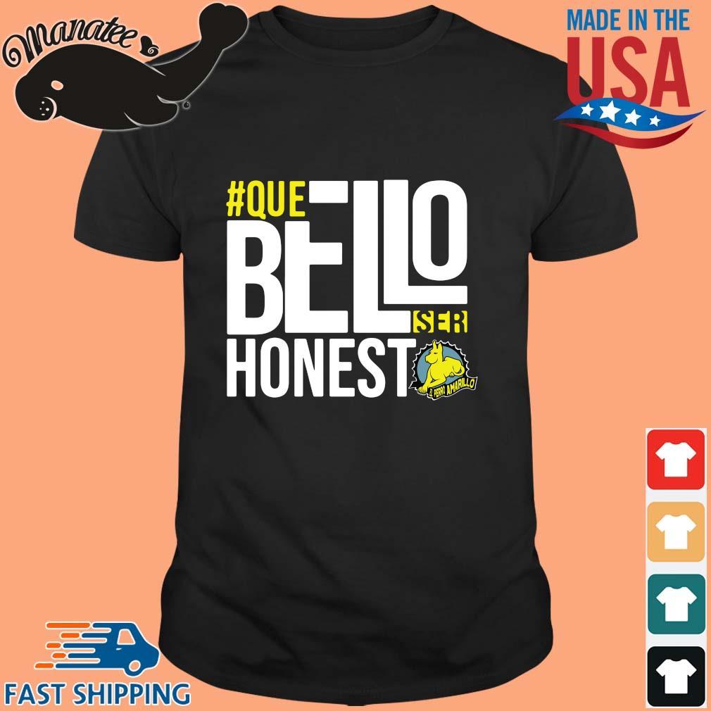 #Que bello honest amarillo shirt