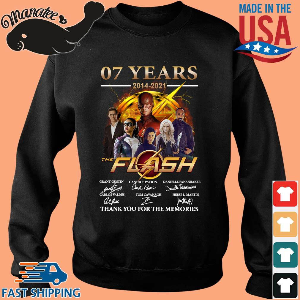 07 years 2014-2021 The Flash thank you for the memories signatures s Sweater den