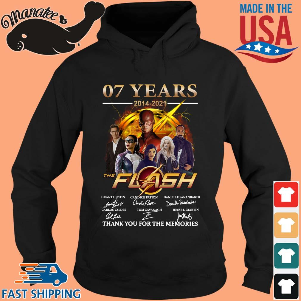 07 years 2014-2021 The Flash thank you for the memories signatures s hoodie den
