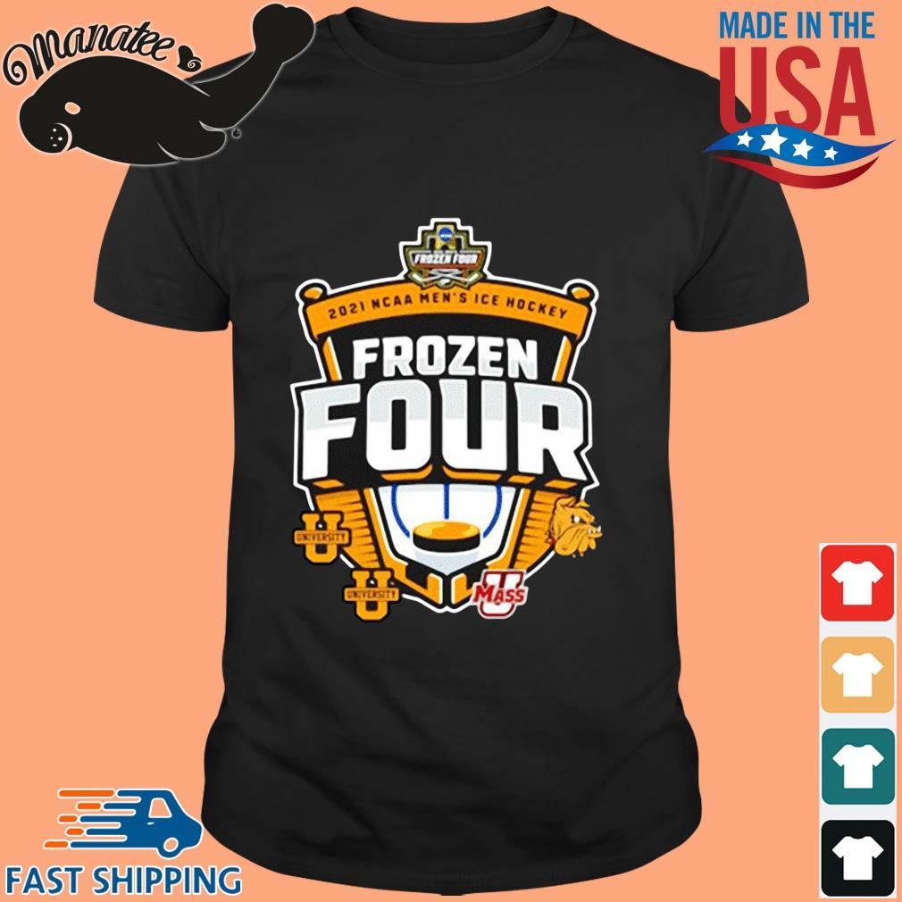 2021 Ncaa Men_s Hockey Tournament Frozen Four Logo Shirt