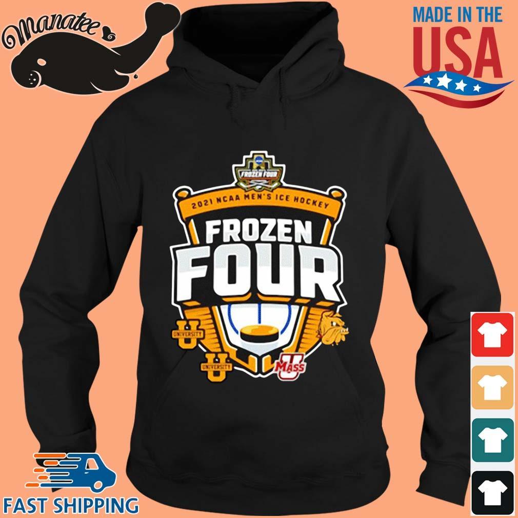 2021 Ncaa Men_s Hockey Tournament Frozen Four Logo Shirt hoodie den