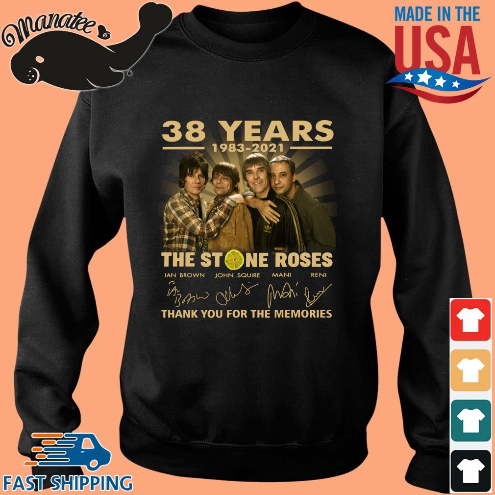 38 years 1983-2021 The Stone Roses thank you for the memories signatures s Sweater den