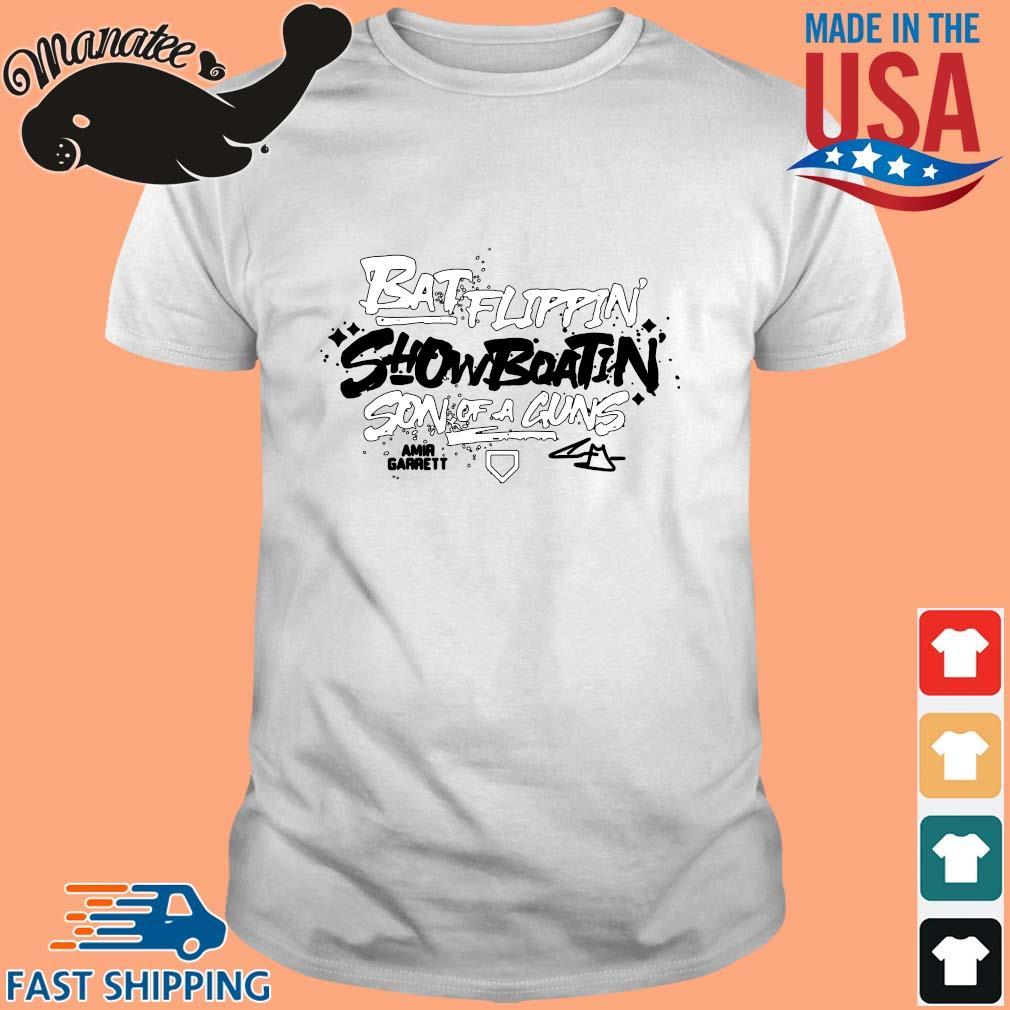 Batflippin Show Boatin Son A Guns Amir Garrett Shirt