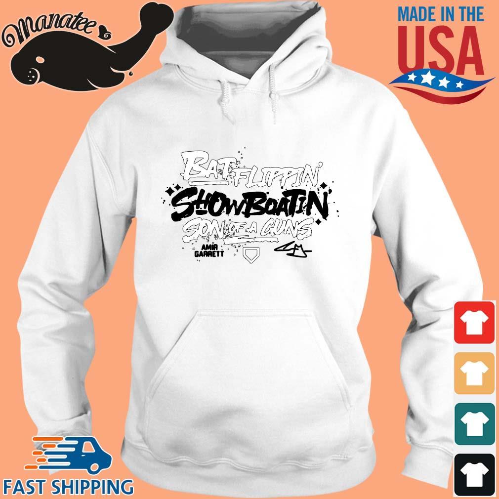 Batflippin Show Boatin Son A Guns Amir Garrett Shirt hoodie trang