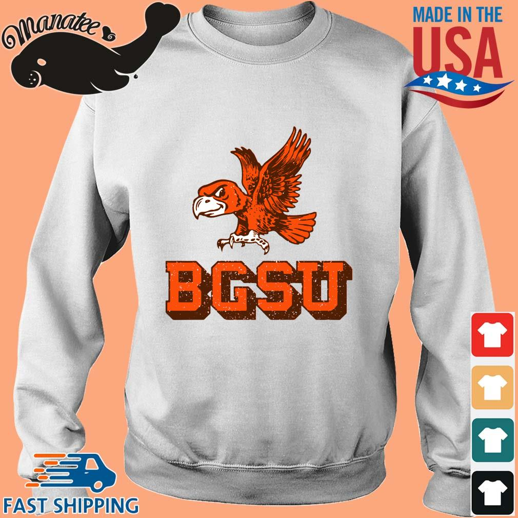 Bowling Green State University Flying Falcon Shirt Sweater trang