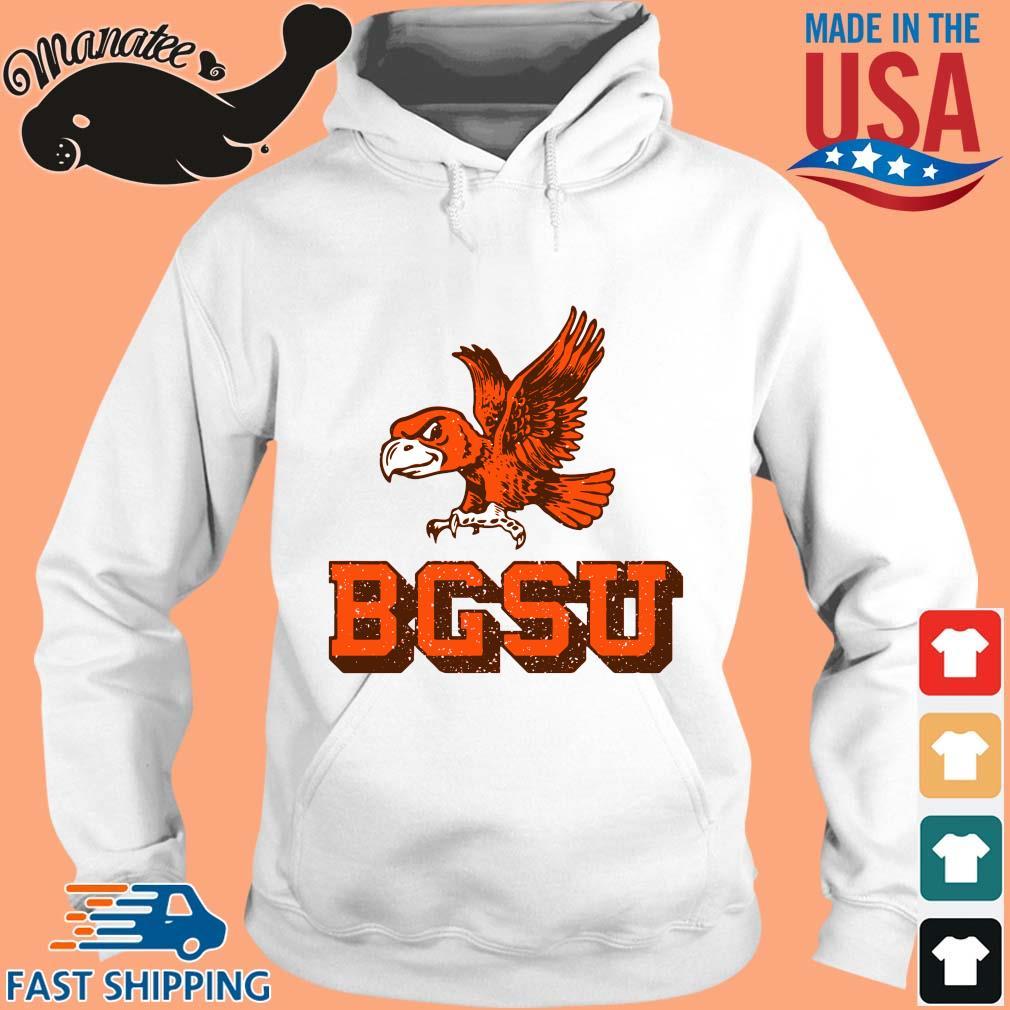 Bowling Green State University Flying Falcon Shirt hoodie trang