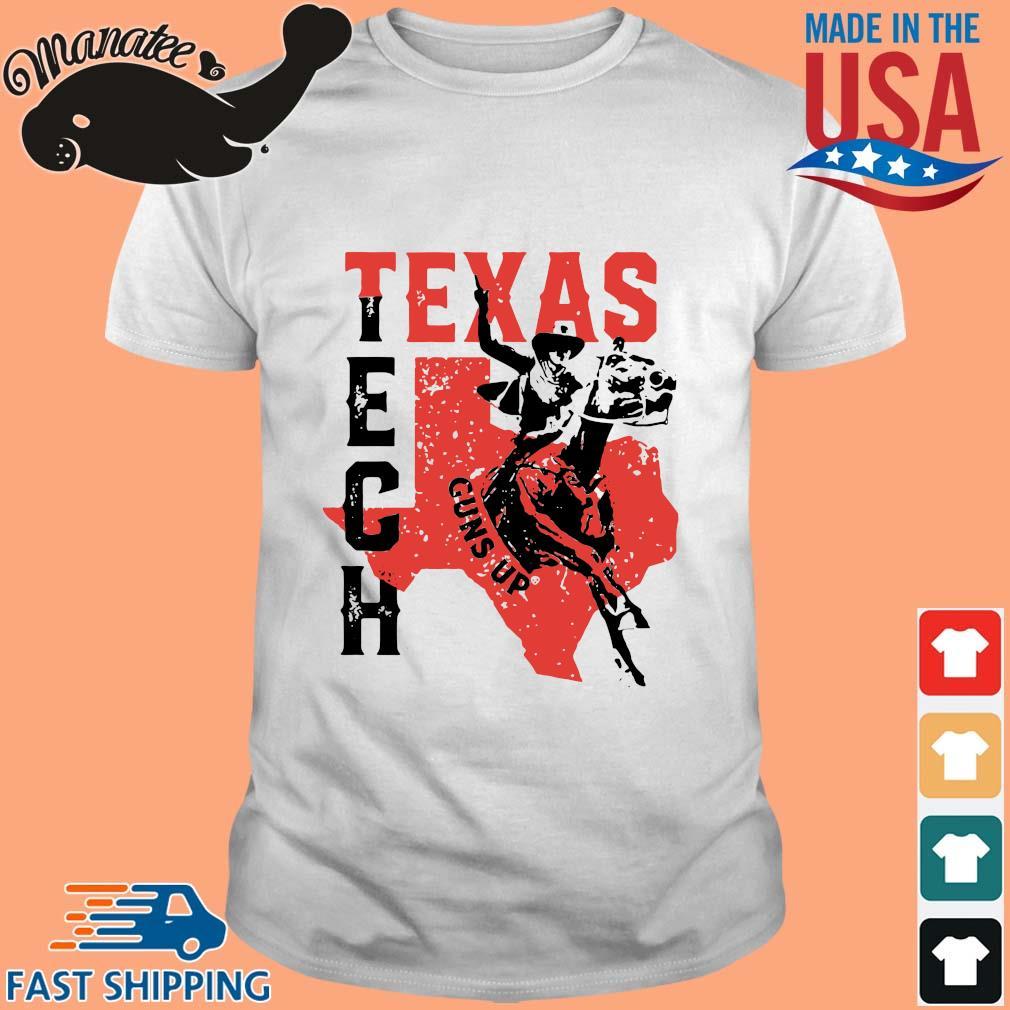 Cowboy Texas Tech Guns Up Shirt