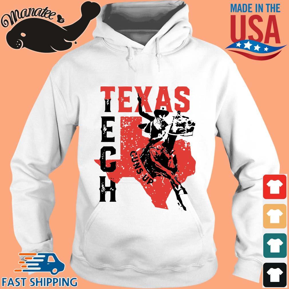 Cowboy Texas Tech Guns Up Shirt hoodie trang