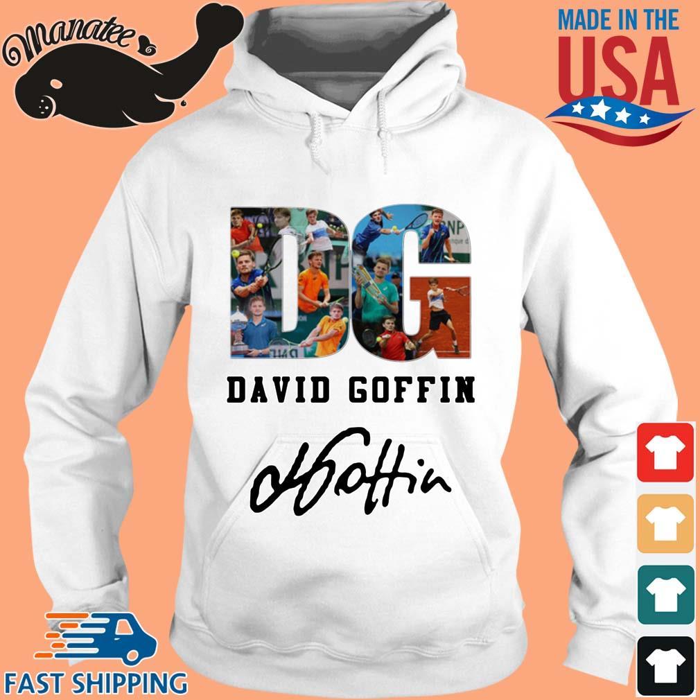 DG David Goffin Signature Shirt hoodie trang