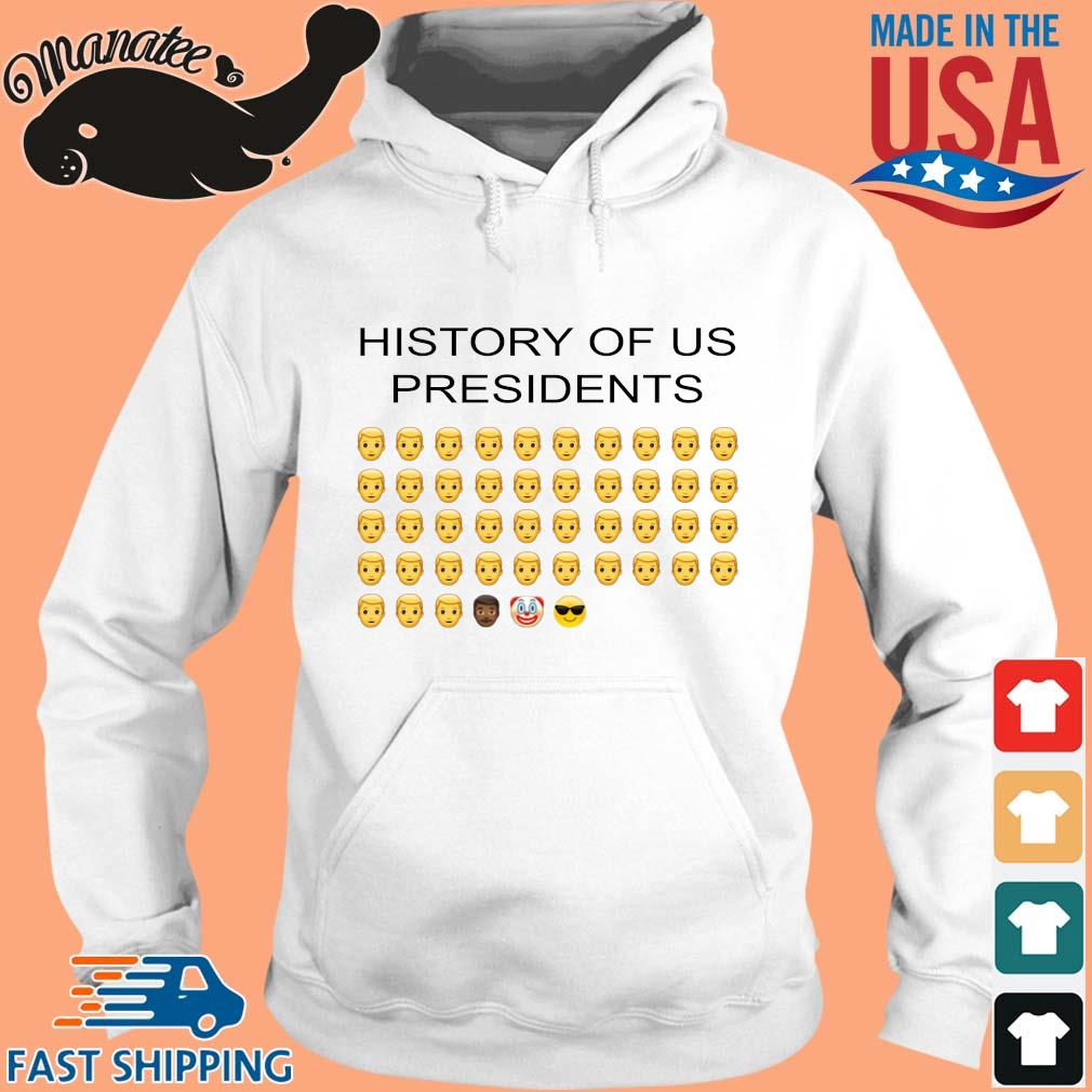 History of us Presidents s hoodie trang