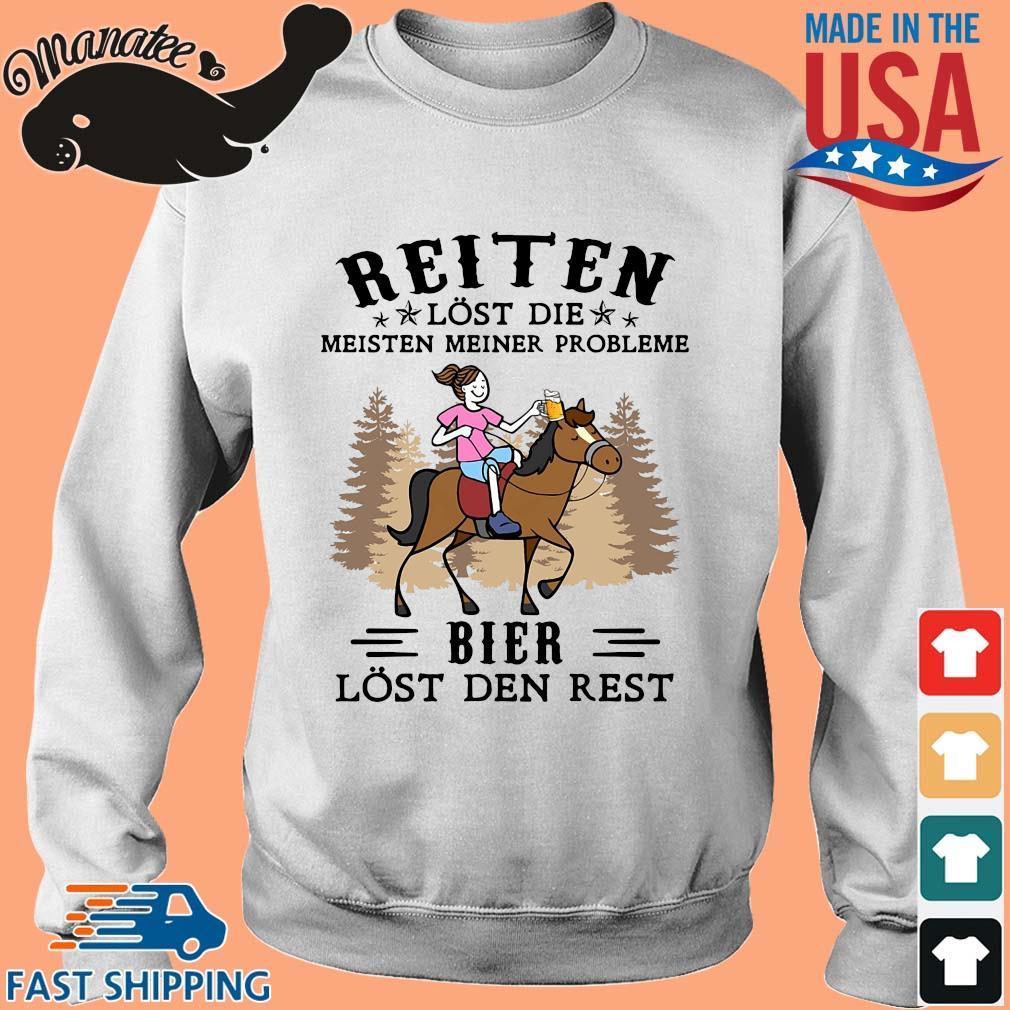 Reiten lost die meisten meiner probleme bier lost den rest s Sweater trang