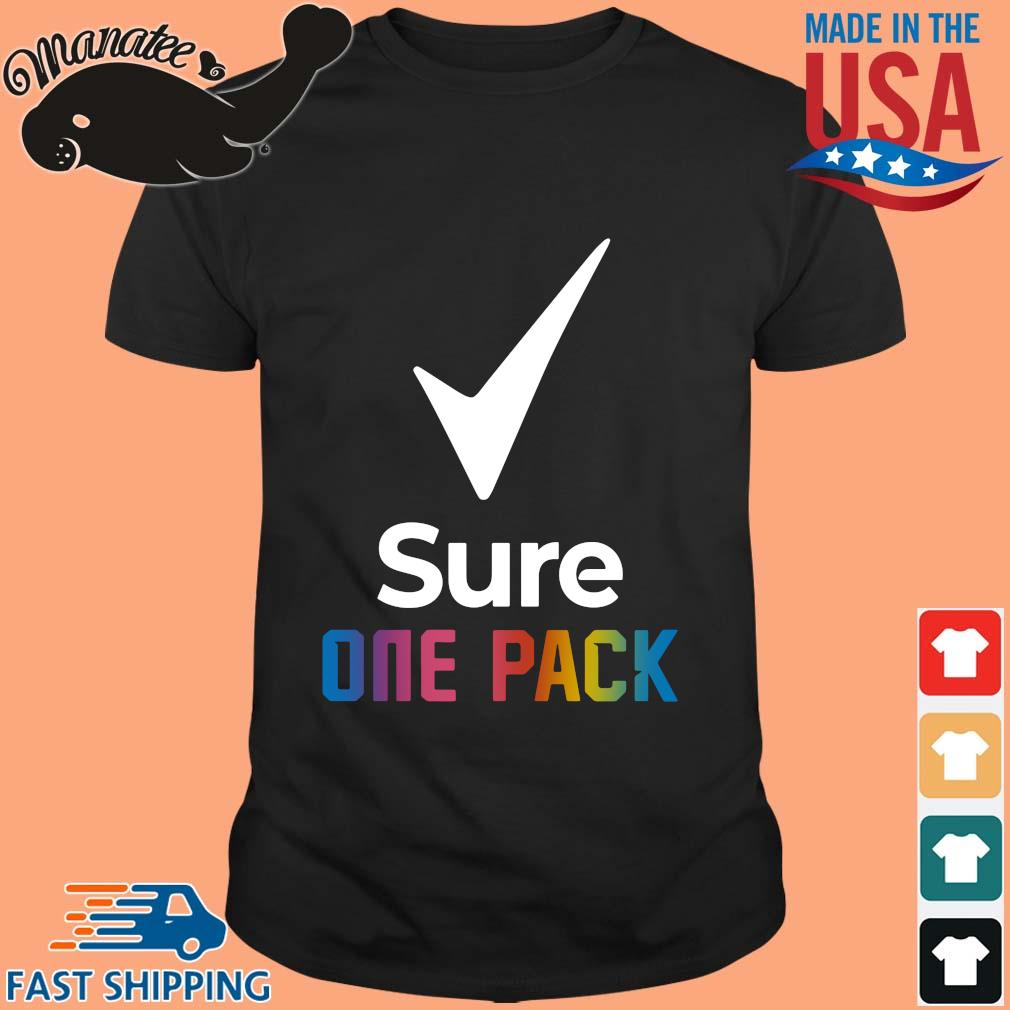 Sure one pack shirt