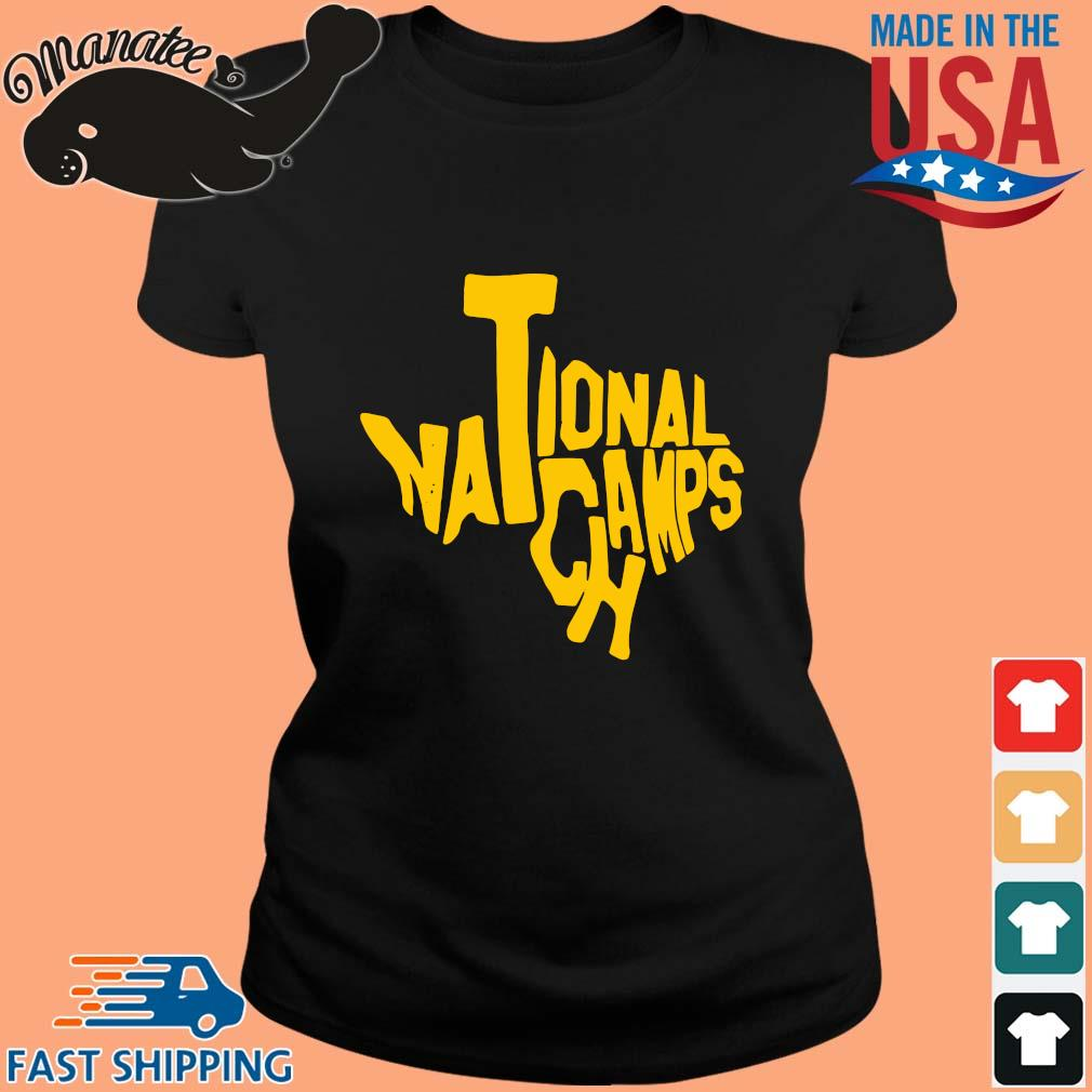 Texas national Champs Shirt ladies den