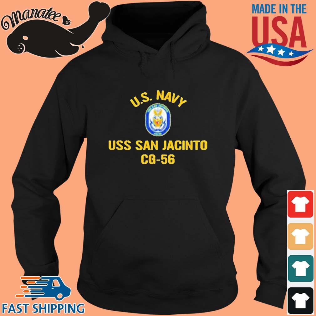 Us Navy Uss San Jacinto CG 56 2021 Shirt hoodie den