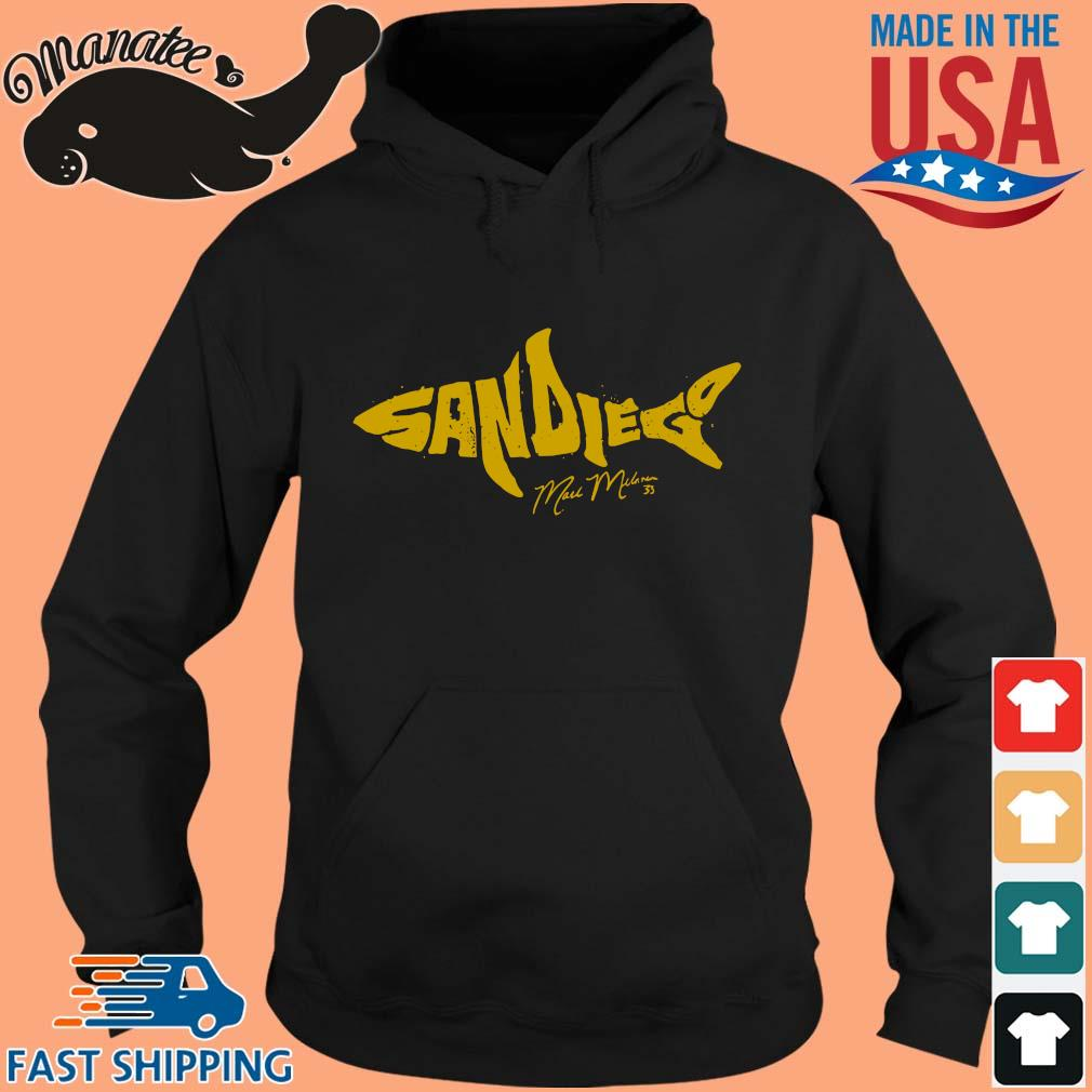 Mark Melancon The Shark Apparel San Diego Shirt hoodie den