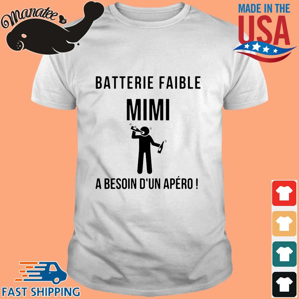 Batterie Faible Frenom A Besoin D'un Apero Shirt