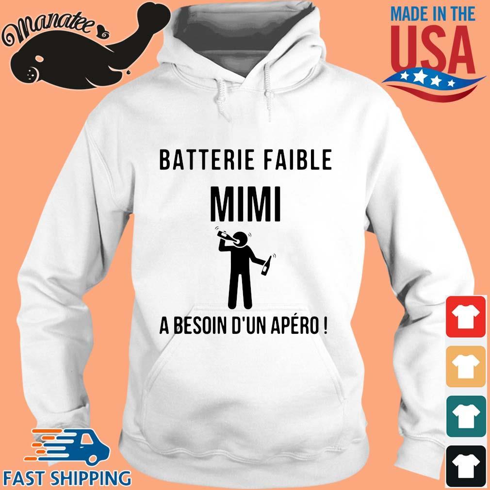 Batterie Faible Frenom A Besoin D'un Apero Shirt hoodie trang