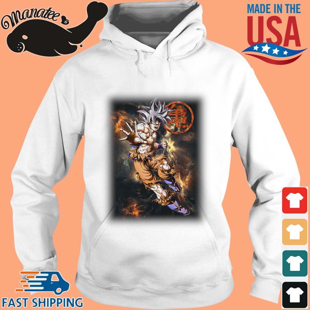 Dragon Ball Z Son Goku Shirt hoodie trang