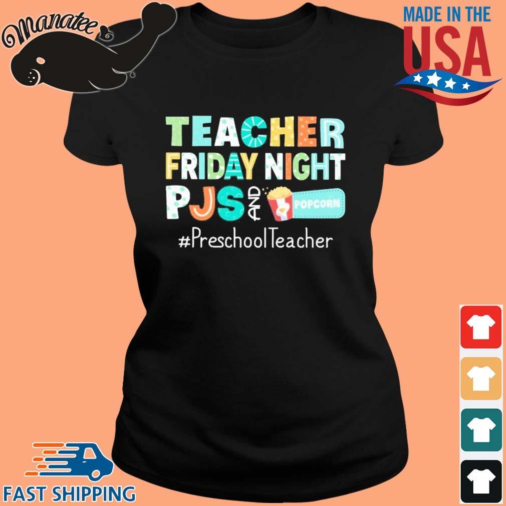 Teacher friday night pjs and Popcorn #PreschoolTeacher s ladies den