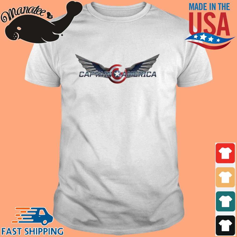 The Falcon And The Winter Soldier Captain America Wings Shirt
