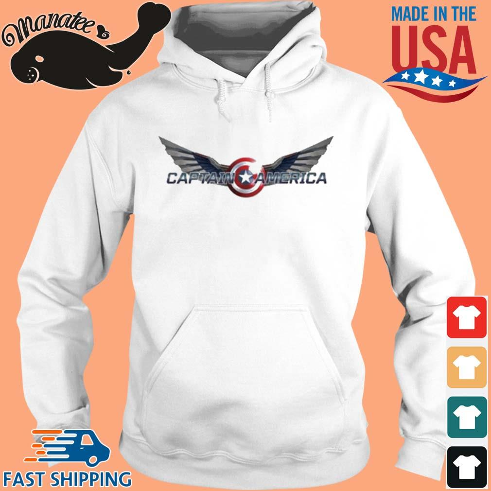 The Falcon And The Winter Soldier Captain America Wings Shirt hoodie trang