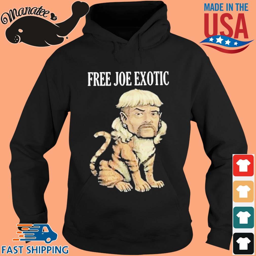Tiger King Free Joe Exotic Shirt hoodie den