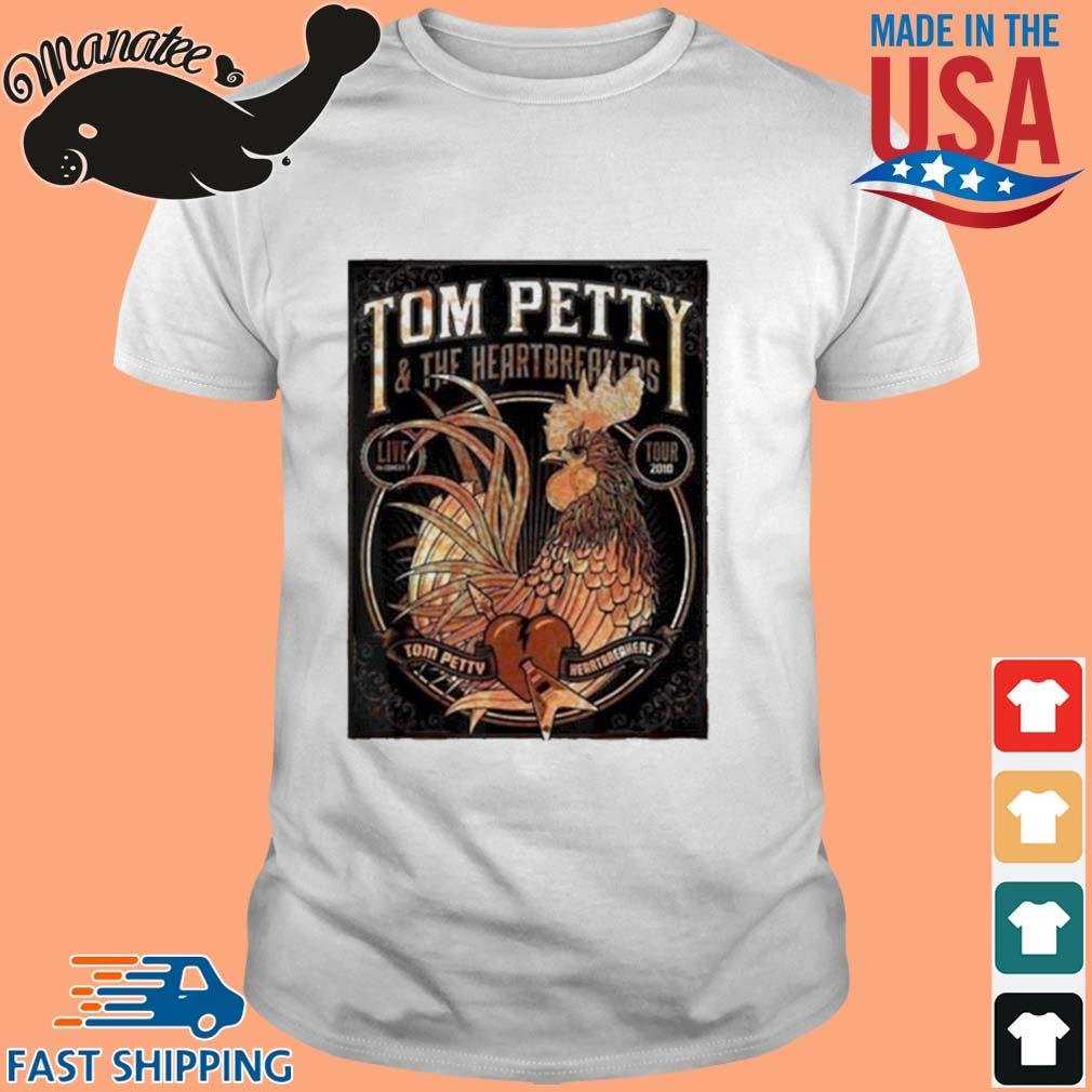 Tom Petty And The Heartbreakers Chicken Shirt