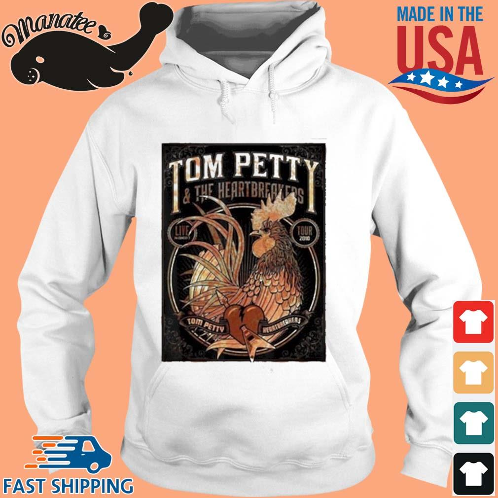Tom Petty And The Heartbreakers Chicken Shirt hoodie trang
