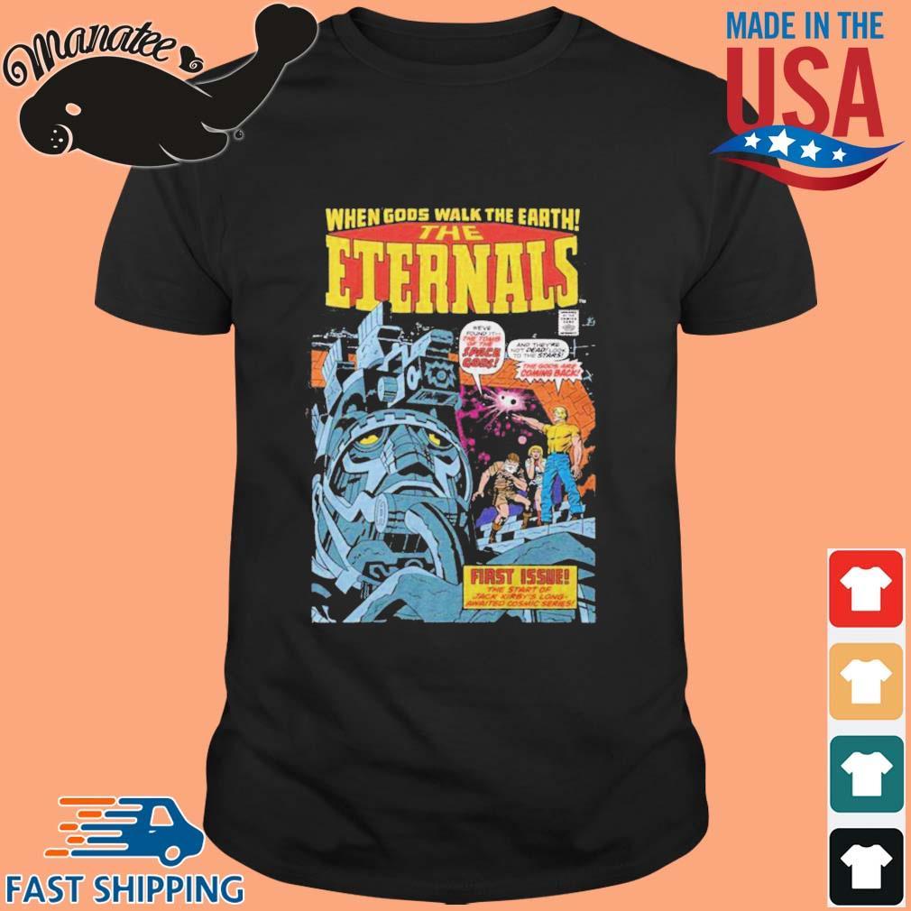 When Gods Walk The Earth The Eternals 1976 Shirt