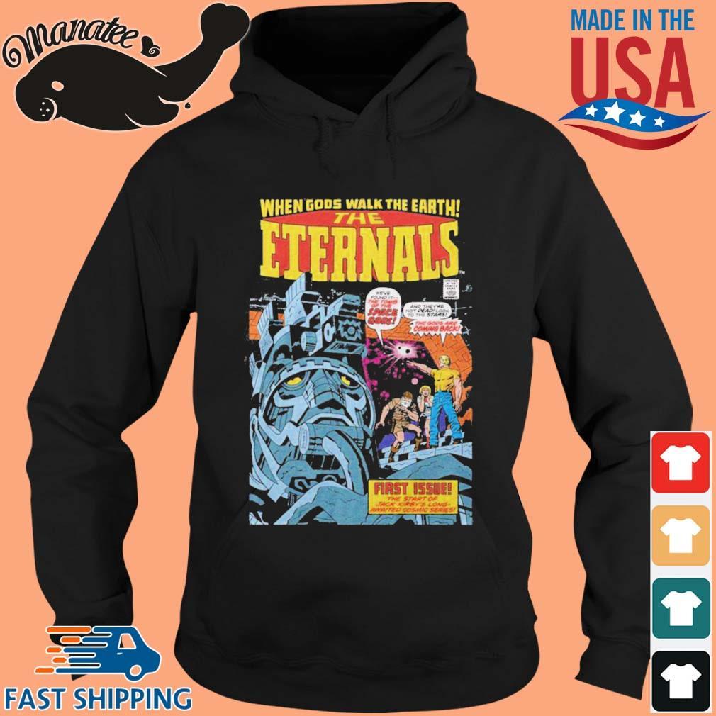 When Gods Walk The Earth The Eternals 1976 Shirt hoodie den