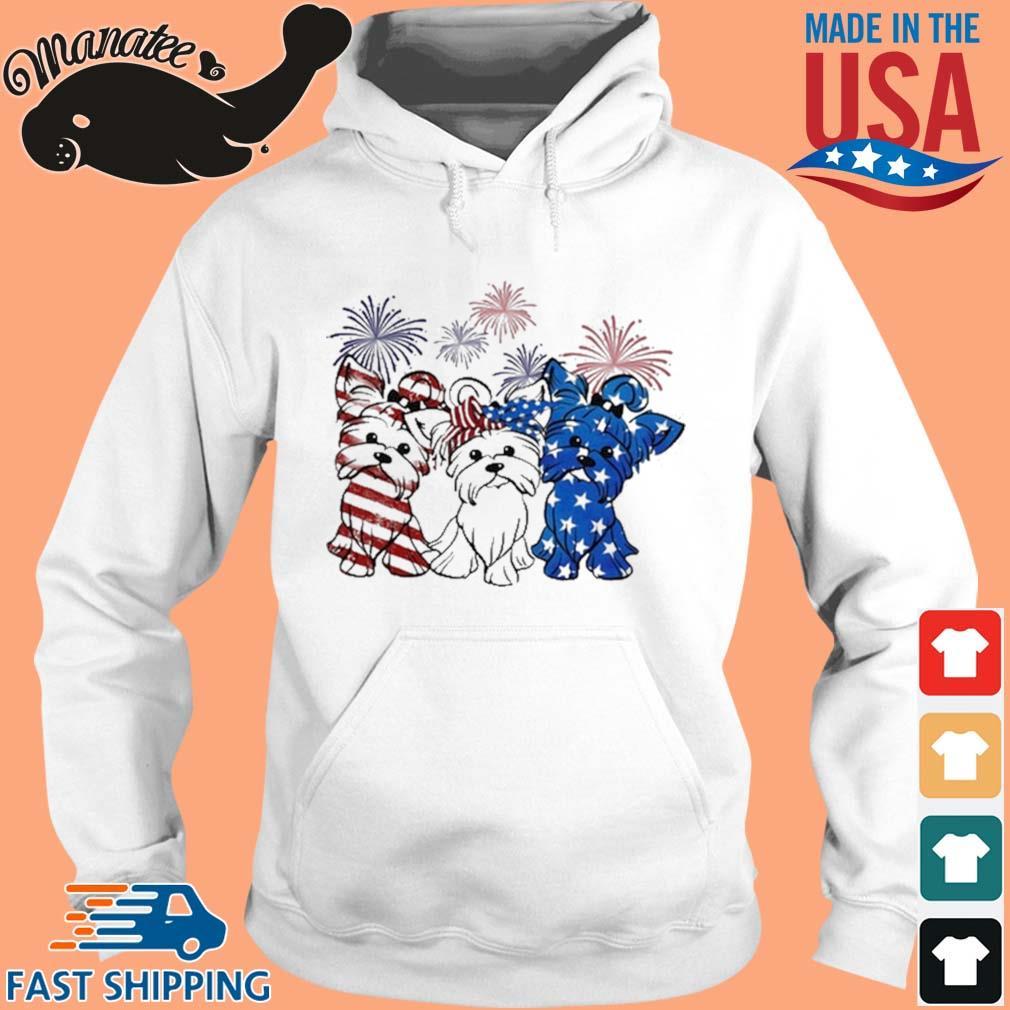 Yorkshire Terrier Flag Colors Yorkie Lovers Shirt hoodie trang