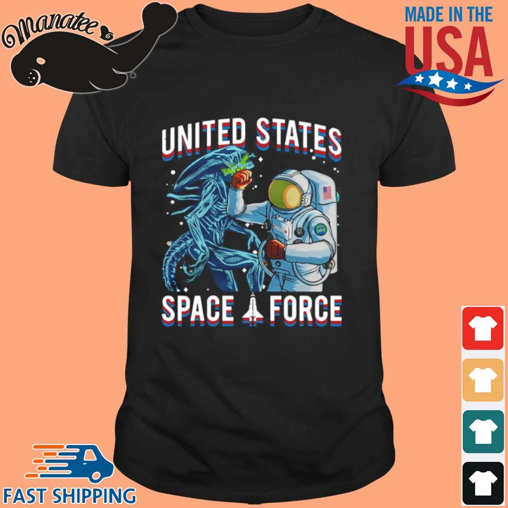 United States Space Force Astronaut Punching Dragon Shirt