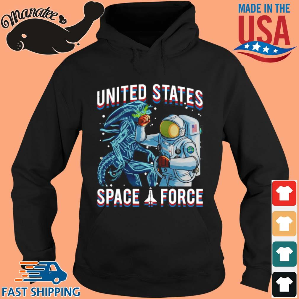 United States Space Force Astronaut Punching Dragon Shirt hoodie den