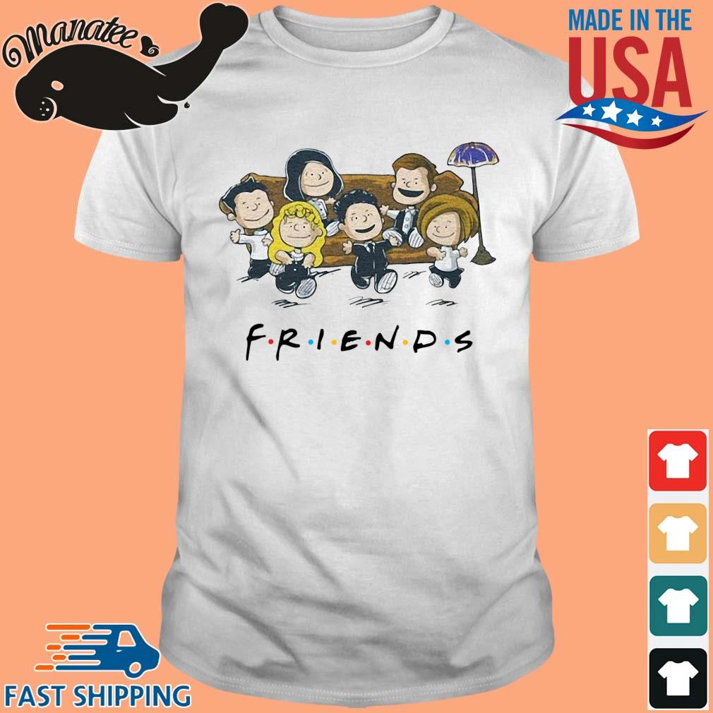 11-front-Friends The Peanuts Shirt-tee