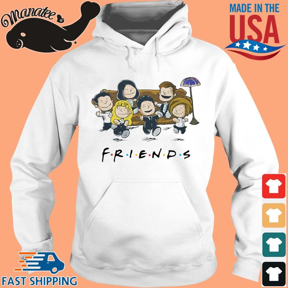 11-front-Friends The Peanuts Shirt-tee hoodie trang