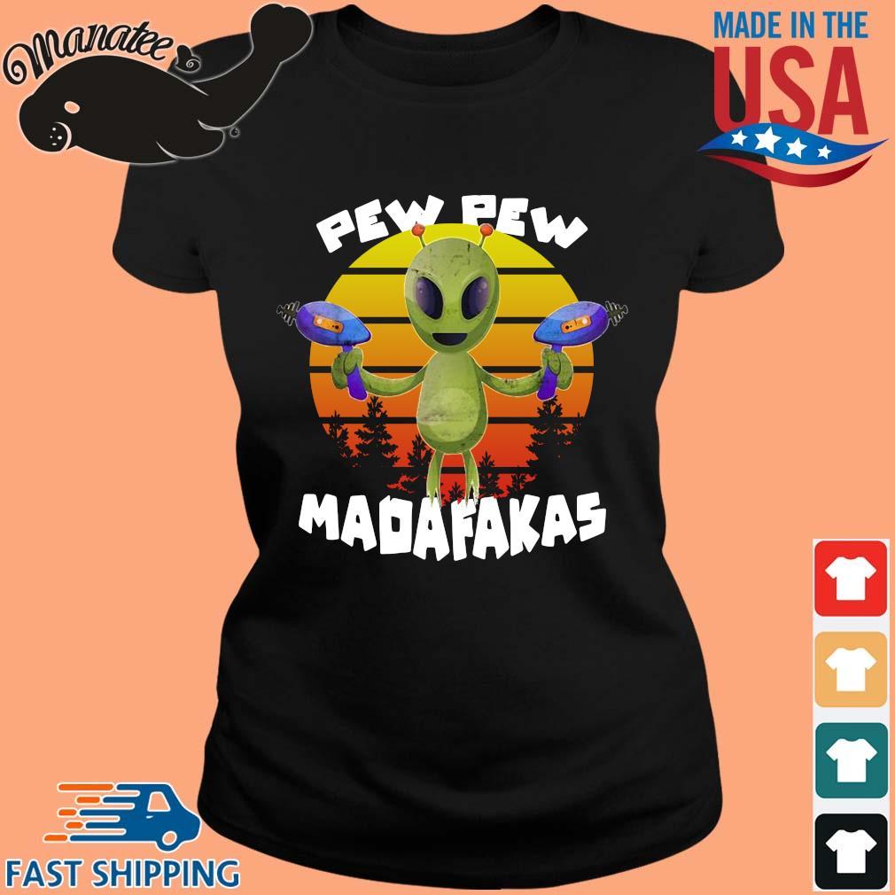 Alien pew pew madafakas vintage s ladies den
