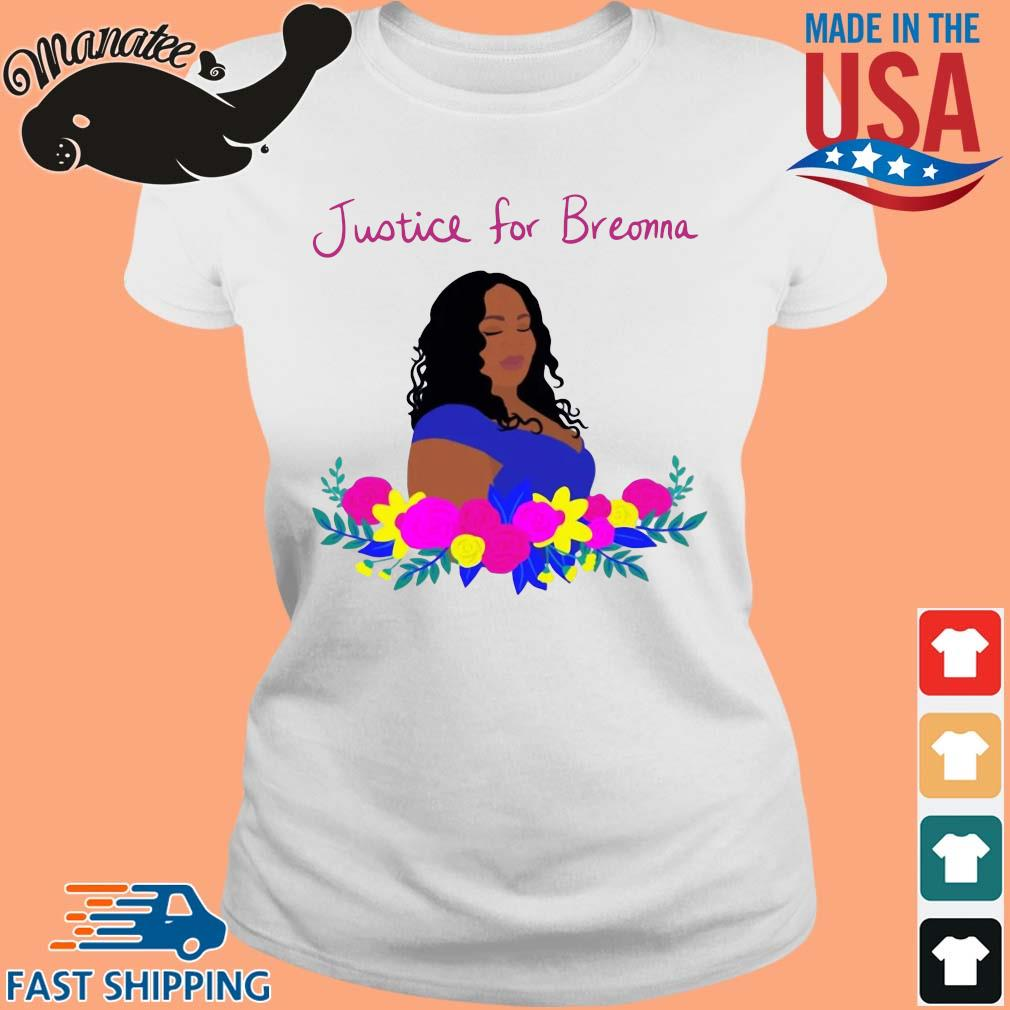 Justice for Breonna flower s Ladies trang