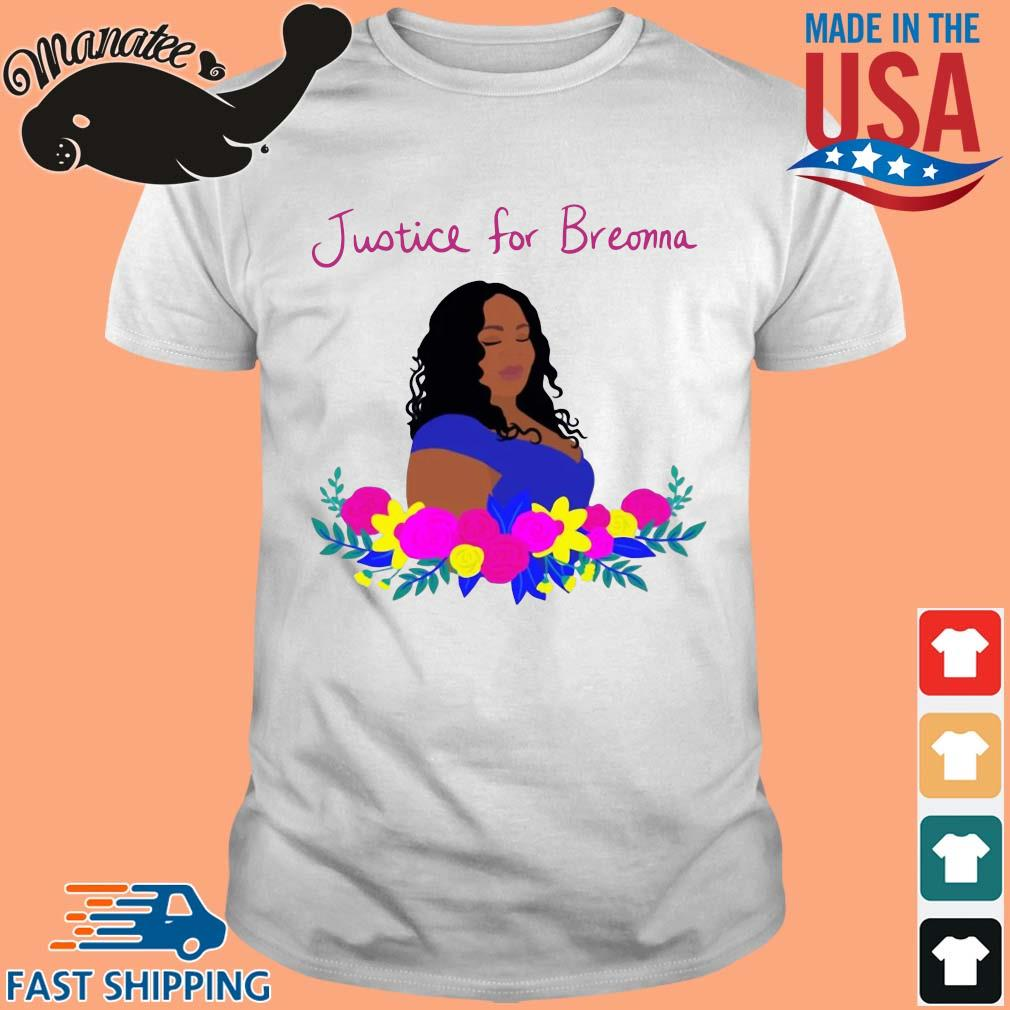 Justice for Breonna flower shirt
